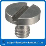 Винт отладки камеры CNC подвергая механической обработке прорезанный нержавеющей сталью головной (1/4-20 3/8-16)