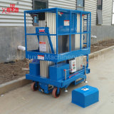 二重マストの空気作業高品質の熱い販売の工場価格の油圧アルミニウム上昇表のプラットホーム