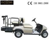 4人の電気ゴルフ車