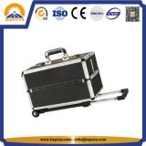 Случай хранения завальцовки алюминиевый с подносами (HB-2510)