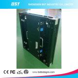 Indicador de diodo emissor de luz interno Rental preto da cor cheia do diodo emissor de luz de P4 SMD2121 para eventos/estágio