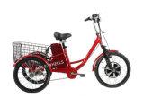 350W elektrische Driewieler voor Lading met Grote Mand (tc-017)
