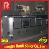 Chaudière à vapeur horizontale à combustion de chambre à huile thermique avec charbon