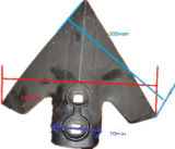Colter-Zahn für Pflug-Schaufel Hpad002