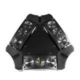 Mini indicatore luminoso capo mobile 4in1 del fascio LED del ragno 9PCS