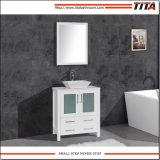 Dissipador de cerâmica de montagem acima moderno mobiliário de banho T9162
