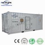 750kVA Aangedreven Cummins Containerized Geluiddichte Diesel die Reeks met de Interne Automatische Bank van de Lading produceert