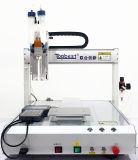 デスクトップの3-Axis二重液体の分配のロボットまたは自動分配機械または自動ディスペンサーまたは自動接着剤の分配のロボット