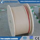 Fil d'aluminium recouvert de papier Nomex