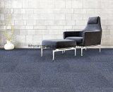 Carreaux de tapis touffeté 50X50 Bureau a utilisé le soutien de PVC couleur unie Pieu de boucle