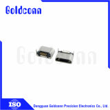 180 Typ Grad5 des Pin-weiblicher Mikro USB-Verbinder-SMT
