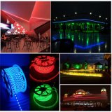 220V SMD5050 60LED/M LEDの滑走路端燈の屋外及び屋内防水Deorative LEDロープライト