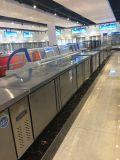 Cozinha de aço inoxidável Undercounter Workbench de Refrigeração