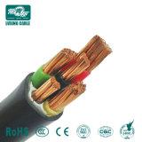 Cabo eléctrico dos sistemas de segurança contra incêndio Lshf XLPE cobre PVC resistente ao fogo