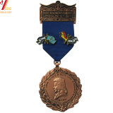 La Chine Fabricant Logo personnalisé Médaille 3D dans l'or