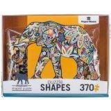 Puzzle a forma di di carta di produzioni Puz-0050e della Camera dell'elefante