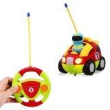 Мультфильм R/C расы ПДУ аудиосистемы игрушки для малышей Car игрушки