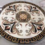Marmormedaillon für Wasserstrahlfußboden im Landhaus/im Hotel-Vorhalle-Eingang