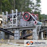 Nuovo tipo frantoio della roccia del motore diesel per il minerale metallifero dell'oro