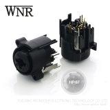 Audio video connettore di Wnre XLR