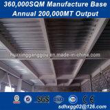 Construções prefabricadas para prova de estrutura metálica do prédio húmido