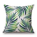 Tropischer gedruckter Kissen-Deckel der Pflanzen45x45 Digital für Sofa (35C0299)