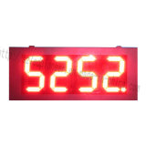 Alta luminosità impermeabile esterna 24 segni del gas della scheda LED del segno del comitato di Digitahi di prezzi della stazione di servizio di Digitahi LED di colore rosso 8888 di pollice