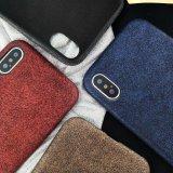 Fosco elegante PC+PU Caso Telefone Protetora para iPhone x