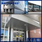 PVDF revêtement feuille ACP pour panneau mural avec 20 ans de garantie