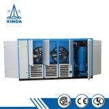 판매를 위한 두 배 단계 압축기 고능률 나사 공기 압축기