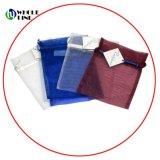 Sacchetto del pattino del tè del Drawstring del Organza/sacchetto del Organza stampati abitudine