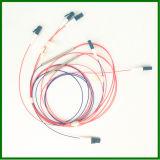 1*2 LC/UPC G657A1 el tubo de acero fundido divisor, el acoplador de fibra óptica