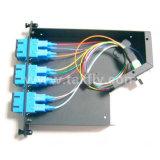 12 vassoio ottico della fibra di memorie MPO/MTP