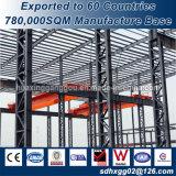 Ce verificó la estructura de bastidor de acero de la construcción de edificios