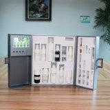 상한 형식 디자인 호화스러운 Skincare 고정되는 영상 상자 선전용 선물을%s 상자를 포장하는 4.3 인치 LCD 스크린 화장품