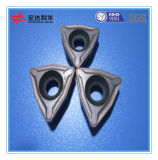 Inserções personalizadas do CNC do carboneto de tungstênio para fazer à máquina de aço