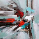 De kleurrijke Abstracte Olieverfschilderijen van de Ambacht voor de Decoratie van het Huis