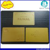 Gold-u. Silber-metallische Hintergrund-Plastikkarten