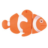 PVC 주문을 받아서 만들어진 Fish USB Flash Drive Company 선물