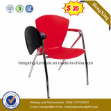 Mobiliário escolar de plástico Escrita Pades Folding Training Office Chair (HX-TRC005)