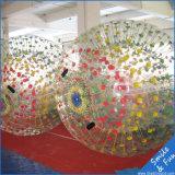 Bille en plastique de Zorb de parc d'attractions pour des gosses