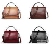 Señora con estilo Handbag Emg5028 del gradiente del cuero genuino del diseñador de moda del bolso superventas de la mujer