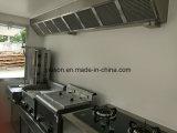 3.9m Carrinhos de aquecimento de alimentos móveis de fibra de vidro para venda