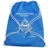 Мешок Backpack Drawstring заплывания пригодности вкладыша гимнастики холстины хлопка для спортов