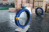 세륨 ISO Wras를 가진 Dn750 두 배 플랜지가 붙은 U 유형 나비 벨브는 승인했다 (CBF01-TU01)