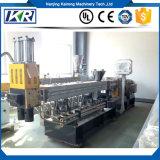 Двойной винт для экструзии PP PE+85% CaCO3 Masterbatch гранулы бумагоделательной машины