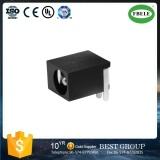 De Elektronische Contactdoos van de Contactdoos gelijkstroom-009A Pin=2.0/2.5mm van de muur