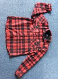 Camicia lunga del manicotto dello scaldino legato del panno morbido
