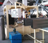La construcción de un transformador del transformador presionó las líneas de acero rodillo del radiador del panel que formaba la fabricación del molde del radiador
