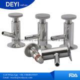 Ss316L Tri robinet d'échantillonnage sanitaire les vannes de fermeture